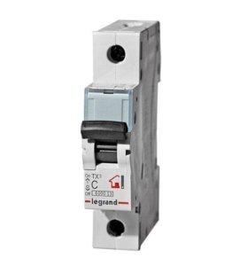 Автоматические выключатели Legrand 1п C 16А