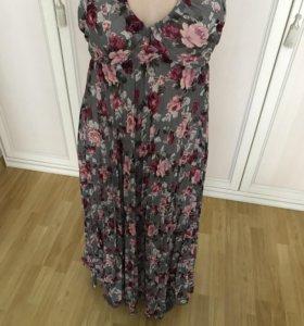 Красивое женское платье на лето