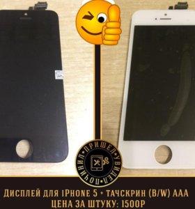 Дисплеи на Apple iPhone