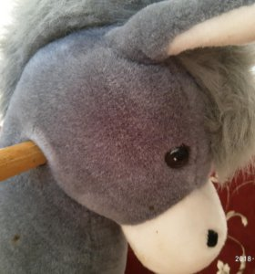 Качалка детская ослик