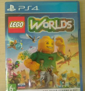 Игра Lego World на ps4