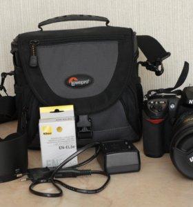 Nikon D200 в комплекте.