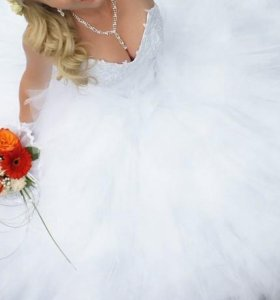 Пллатье свадебное, сшитое на заказ в г. Пермь