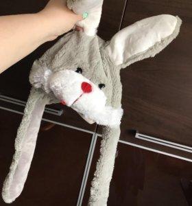 🐰Шапка для детей - заяц