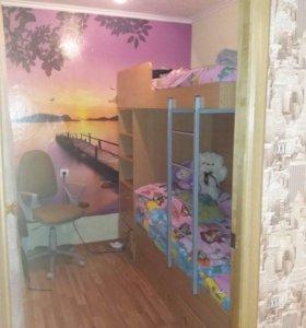 Квартира, 1 комната, 43.5 м²