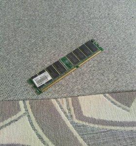 Оперативная память на 256MB Pc 2100