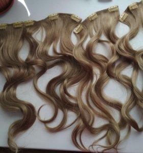 Волосы новые на заколках
