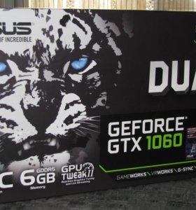 Видеокарта asus GeForce GTX 1060 - 6Gb