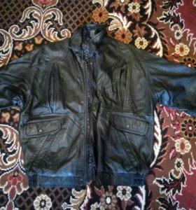 Куртка кожаная, р. 46