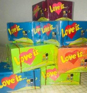 """Жвачки """"love is...@"""