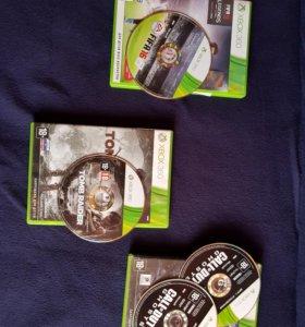 FIFA 16, Call of Duty ghost, TombRaider- лицензия