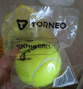 Мячи для большого тенниса и воланы для бадминтона