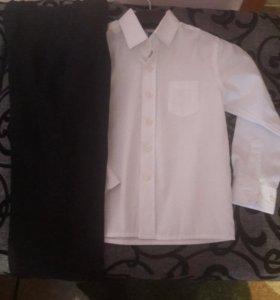 Брюки и рубашка на мальчика