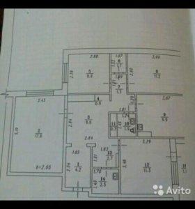 Квартира, 4 комнаты, 83.7 м²