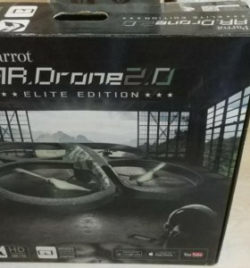 Квадрокоптер Parrot AR. Drone 2.0 Elite Edition