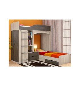 Двухьярусная кровать.можно обмен