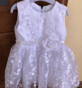 Платье нарядное (1-2 года)
