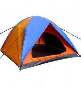 Новая трехместная туристическая палатка Десна 3.