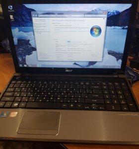 Acer 5820T Игровой. Core i5.HD 6550m 1Gb. 4Gb-oзу