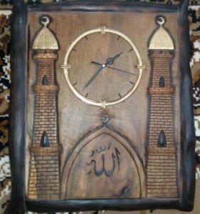Мусульманские часы ручная работа