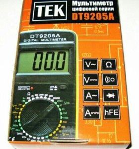 Мультиметр DT9205A Новый