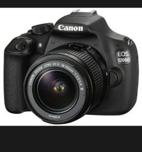 Фотоаппарат зеркальный Canon 1200 d EOS
