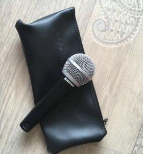 Микрофон вокальный sm58