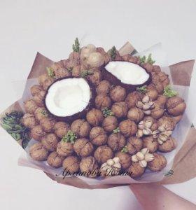 Вкусные букеты на заказ)