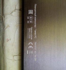 Планшет Texet TM-9757 3G 16 Gb на З/Ч