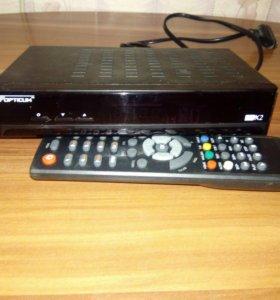 TV приставка ресивер opticum