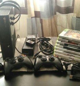 Xbox 360e .500Gb.  Небольшой Торг.