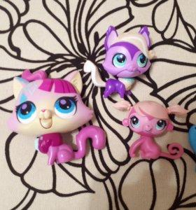 Игрушки Littlest Pet Shop литл пет шоп