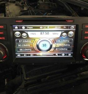 Магнитола для Toyota highlander 2din