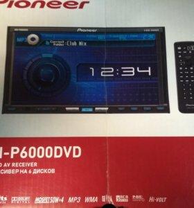 магнитола 2 DIN PIONEER AVH-6000DVD