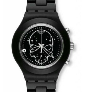 Часы Swatch bloody skull (Швейцария)