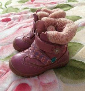 Ботинки зима, натуралка