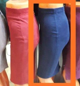 Новые женские брюки и юбка