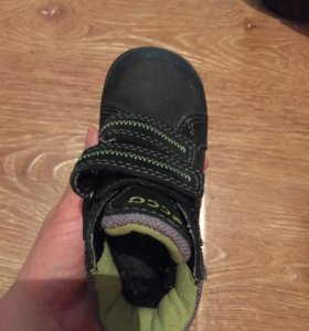 Ботинки Ecco 20 р-р