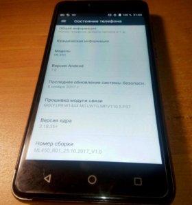 Смартфон DEXP ML 450