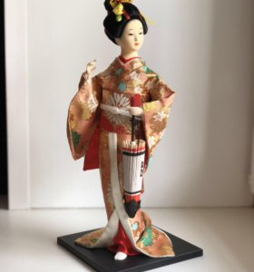 Кукла Гейша гипсовая 32 см
