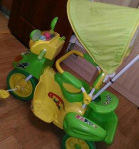 Хороший детский велосипед