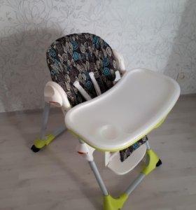 стульчик для кормления chicco polly