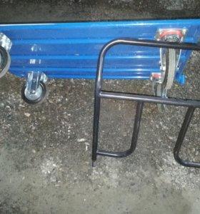 Складская телега груз. 450 кг разм 130 *70