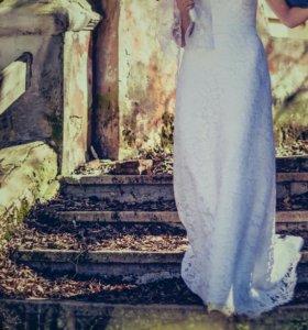 Свадебное платье 42 р.