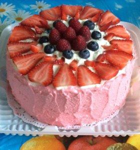 Торты, выпечка и сладости на заказ