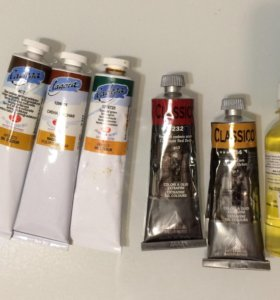 Краски масляные