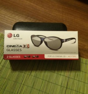 LG CINEMA GLASSES 3D ОЧКИ от 400р.