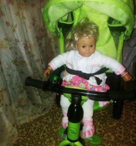 Велосипед трехколесный с родит.ручкой