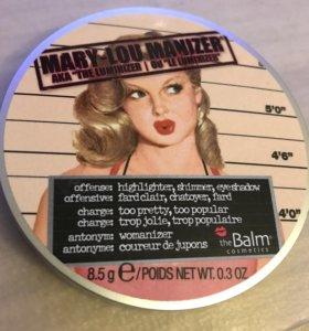 Хайлайтер the balm mary-lou manizer