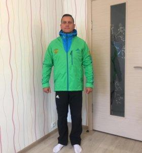 Продам новые влаговетрозащитные куртки Сборной РФ